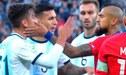 Argentina vs Chile: Agresión de Arturo Vidal a Paulo Dybala que el árbitro no sancionó [VIDEO]