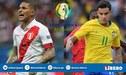 Perú vs Brasil [TV Pública en vivo] Blanquirroja empata 0-0 en directo