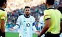 Lionel Messi denunció corrupción en Copa América y Conmebol publicó duro comunicado