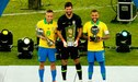 Dani Alves y Alisson son los mejores jugadores de la Copa América 2019