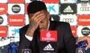 Eder Militao sintió mareos durante su presentación en el Real Madrid y debió abandonar la sala de prensa [VIDEOS]