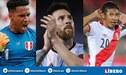 Edison Flores,Pedro Gallese y Lionel Messi compitieron por este peculiar trofeo de la Copa América