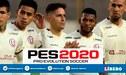 Logo de PES 2020 aparece en las camisetas de Universitario de Deportes