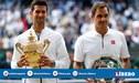 ¡Atención! Djokovic cerca de Nadal en ránking de Grand Slams tras vencer a Federer en Wimbledon 2019