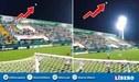 Pelota hizo extraño efecto durante un partido de Chapecoense [VIDEO]