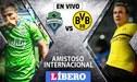 Seattle Sounders 0-1 Borussia Dortmund [EN VIVO]: Con Raúl Ruidíaz en amistoso internacional
