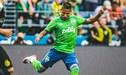 Seattle Sounders, con Raúl Ruidíaz, perdió 3-1 ante B. Dortmund en amistoso internacional [RESUMEN]