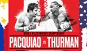 Pacquiao vs Thurman [BOX Azteca TV online] Pacman cerca del KO Round 5