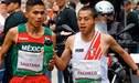 Panamericanos Lima 2019: el enorme gesto del atleta mexicano con Cristhian Pacheco durante la maratón [FOTO]