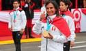 """Gladys Tejeda: """"Ahora mi meta es llegar a los Juegos Olímpicos Tokio 2020"""" [VIDEO]"""