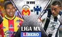 Morelia cayó 1-0 ante Monterrey por Liga MX