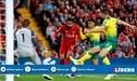Liverpool vs Norwich: Mohamed Salah anota el 2-0 a favor de los 'Reds' por la Premier League [VIDEO]