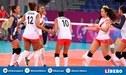 Perú vs Puerto Rico EN VIVO: por el quinto lugar en voley de los Juegos Panamericanos