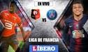 PSG vs Rennes [EN VIVO]: empatan 0-0 por la fecha 2 de la Ligue 1
