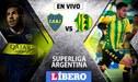 Boca Juniors vs Aldosivi [EN VIVO] Fox Sports y TNT: Xeneizes ganan 1-0 por la Superliga Argentina