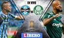 Gremio 0-0 Palmeiras [EN VIVO]: Por cuartos de final de la Copa Libertadores 2019