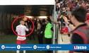 Paolo Guerrero se enfrenta a torcedores del Flamengo en el Maracaná