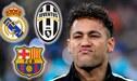 PSG rechaza increíbles ofertas del Real Madrid, Barcelona y Juventus por Neymar
