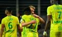Nantes venció 2-1 al Amiens: Cristian Benavente se quedó en la banca