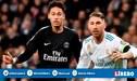 Real Madrid: Ramos puso a Neymar entre los tres mejores del mundo