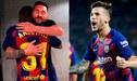 Barcelona: El tierno abrazo de Lionel Messi a Ansu Fati y felicitación a Carles Pérez