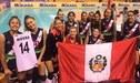Perú venció 3-0 a Turquía por el campeonato Mundial de Vóley Sub-18 Egipto 2019