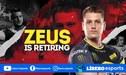 CS:GO | ¡Zeus se retirará este fin de semana!