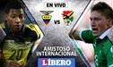 Ecuador vs Bolivia EN VIVO en amistoso internacional por fecha doble FIFA