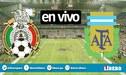 México vs Argentina [Azteca EN VIVO] Ver TyC Sports y TUDN gratis
