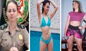 Instagram: Agente policial enciende las redes con sensuales rutinas de ejercicios [FOTOS]