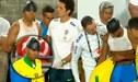 Perú vs Brasil: El duro choque de cabezas entre Casemiro y David Neres [VIDEO]