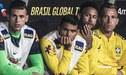 Neymar y la imagen mirando a Yoshimar Yotún se hizo viral a nivel mundial [FOTOS]