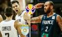 Argentina vs Francia [TV Pública EN VIVO] Mundial de China vía TyC Sports