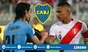 ¿Paolo Guerrero y Edinson Cavani juntos en Boca Juniors?