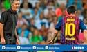 """José Mourinho le agradece a Lionel Messi por hacerlo """"Mejor entrenador"""""""