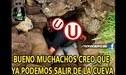 Universitario: ¡Ni el líder se salva! Hilarantes memes abundan Facebook tras triunfo crema [FOTOS]