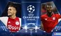 Ajax vs Lille EN VIVO ONLINE por el inicio de la Champions League