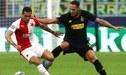 Inter de Milán empató 1-1 con Slavia Praga por la primera fecha de la Champions League [RESUMEN]