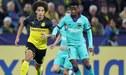 Barcelona 0-0 Borussia Dortmund [Fox Sports EN VIVO]: Por la fecha 1 de la Champions League