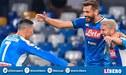 ¡Lo tumbó! Napoli venció 2-0 al Liverpool por la fase de grupos de la Champions League | RESUMEN Y GOLES