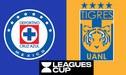 Cruz Azul vs Tigres [Televisa EN VIVO] PT 0-0 en directo Leagues Cup