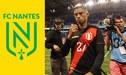 Kevin Quevedo en los planes del FC Nantes, según portal francés