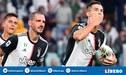 Cristiano Ronaldo llegó a importante marca goleadora con la Juventus