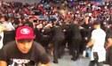 ¡Vergüenza en México! Llueven 'botellazos' sobre peleador de UFC