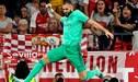 Real Madrid ganó a Sevilla con solitario gol de Benzema [RESUMEN Y GOL]