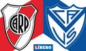River vs Vélez [TV Pública EN VIVO] Ver gratis por TNT Sports aquí