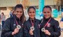 ¡Celebra Perú! Equipo Femenino de Kata ganó la medalla de oro en Karate 1 Serie A de Santiago de Chile
