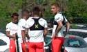 Paolo Guerrero no terminó entrenamientos de la selección peruana en Ezeiza |VIDEO