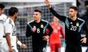 ¡Partidazo! Argentina empató 2-2 ante Alemania con gran actuación de Lucas Alario  RESUMEN Y GOLES