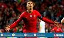 Cristiano Ronaldo y la racha que quiere extender con Portugal